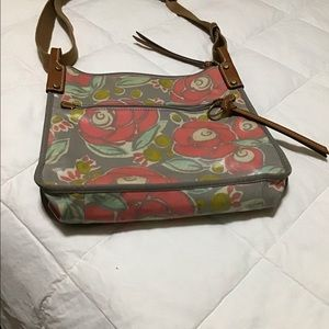 Fossil laminate crossbody